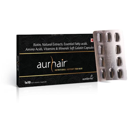 Aurhair-Softgel-capsules